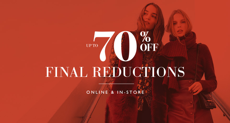 Sale - Final Reductions - Up to 70% Off