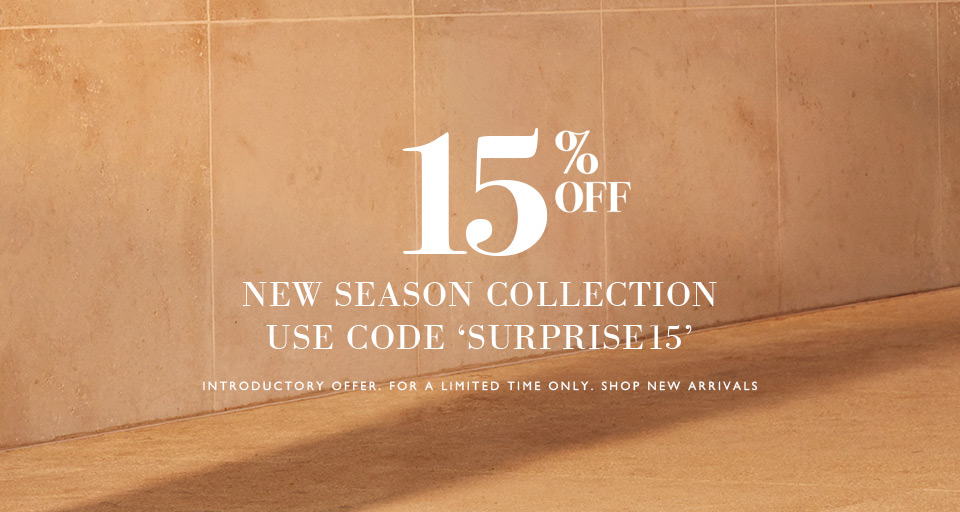 15% Off New Season Collection