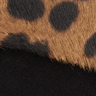 Leopard-Fiona Leopard Haircalf Suede Clutch